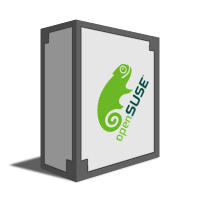 OpenSuse - Novell's Community Edition - originally started in Europe